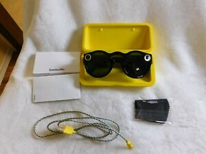 Spectacles Snap Smart Phone Camera Glasses for Snapchat Black mint