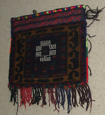 Afghanistan Turkman Salt Grain Cary Tote Bag Rug Carpet Afghan Kuchi Handmade