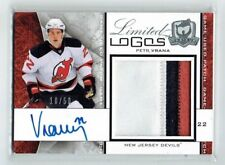 08-09 UD The Cup Limited Logos Petr Vrana /75 Auto Patch Rookie