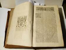 RARE 1620 Augustin Marlorat Thomas Osborne,1st Duke of Leeds kiveton ANTIQ LIVRE