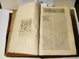 Rare 1620 Augustin Marlorat Thomas Osborne, 1st Duke of Leeds Kiveton Antiq Book