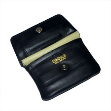 Dr Plumb Leather Wallet Style Tobacco Pouch with Belt Loop & Paper Holder P35518