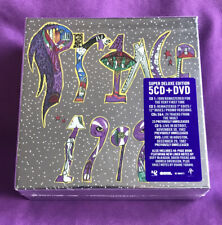 Prince 1999 SUPER DELUXE Box Coffret 5 CD's + DVD - NPG rec.  Limited Ed. Sealed