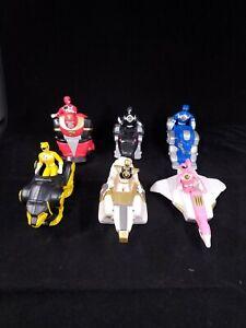 Mighty Morphin Power Rangers Mcdonalds FULL SET 1995