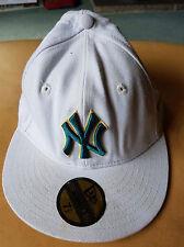 New Era Berretto Da Baseball/cappello bianco 59 FIFTY. 60 cm UFFICIALE MLB. Lana/cotone