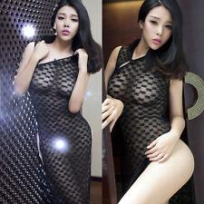 Set Costume Completino Cheongsam Lingerie Molto Sexy Nero Black con Perizoma