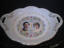Coalport Bone China Double Handled Bowl BonBon Sweet Dish HRH Charles & Diana