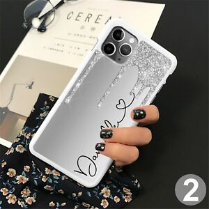 Glitter Heart Phone Case Cover For iPhone Samsung Huawei Google Pixel ETC 144-2