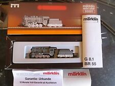 Marklin spur z scale/gauge KPEV Steam Locomotive & Tender MHI Insider Model 1998