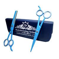 Shears Salon Professional Hairdressing Hair Cutting Thinning Barber Scissors Set