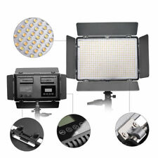 TRAVOR TL-600S LED Video Light 5500K Lamp Panel Photography Studio Lighting Unit