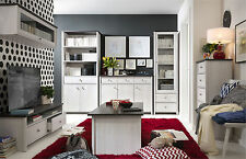 Modern Living Room Set Scandinavian White washed Shabby Chic PR