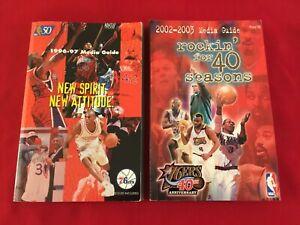 NBA Philadelphia 76ers media guide yearbook / You pick 'em / Box 2020 / Iverson
