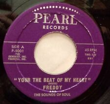 FREDDY 45 Your the best of my heart / That ain't right PEARL  Doowop Kz 382