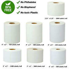 Direct Thermal Shipping Paper Labels Compatible For Zebra Datamax Lp2824 Lp2844