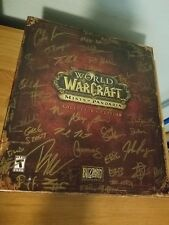 *New & Signed by DEVS* World of Warcraft Mists of Pandaria - Collector's Edition