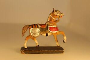 Original Compositio 70mm Hausser Elastolin Medieval War Horse pre-1970