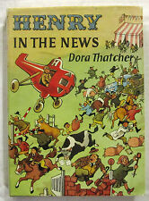 Henry in the News Dora Thatcher & Val Biro 2nd Impression HCDJ 1966 Scarce Title