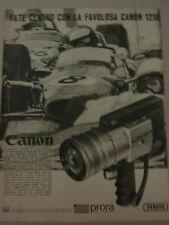 ADVERTISING PUBBLICITA'  FATE CENTRO CON LA FAVOLOSA CANON 1218 -- 1970
