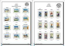 Album de timbres Auto-adhésif France 2015 à imprimer