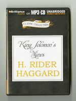 King Solomon's Mines - by H. Rider Haggard - MP3CD - Audiobook