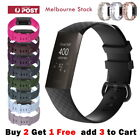 Fitbit Charge 3 Band Charge 4 Replacement Silicone Watch Strap Classic Wristband