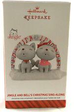 2014 Hallmark Ornament Jingle and Bells Christmas Sing Along-NEW-NEVER DISPLAYED