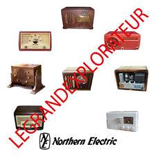 Ultimate Northern Electric Vintage Audio Radio Service Repair manuals manual DVD
