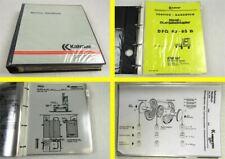 Kalmar DFQ-D Service Handbuch Werkstatthandbuch Reparaturanleitung 90er Jahre