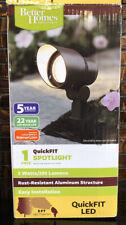 LED Bronze Spotlight Light QuickFIT Better Homes & Gardens 200 Lumens 3w