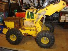 Vintage Tonka Mighty Diesel Front End Loader XMB975 Vintage Pressed Steel Truck