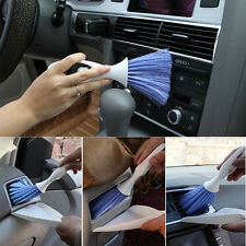 New Car Dashboard Vent Cleaner Tool Keyboard Air Outlet Mini Clean Brush+Dustpan