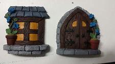 Fairy door and window set
