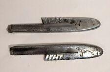 46 47 HUDSON 1946 HOOD TRIM Mouldings 2 Pieces