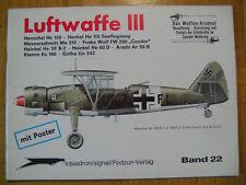 Luftwaffe (III) Waffen-Arsenal Band 22