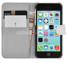 New Magnetic Leather Flip Protective Wallet Case Cover For APPLE iPhone 4 4S 4G