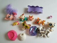 Littlest Pet Shop Lot of Accessories and Pets Mixed Lot