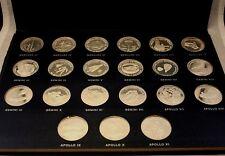 Danbury Mint Men In Space Sterling Silver Proof Set 21 Pieces