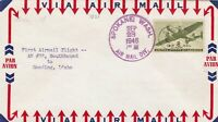 united states 1946 airmail stamps cover ref 13291