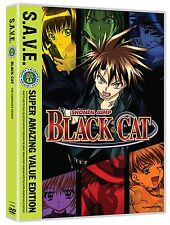 Black Cat - The Complete Series S.A.V.E. Complete Anime Box / DVD Set NEW!