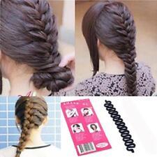 Lady Stick Fashion Clip Womens Braid Hair Accessories Maker Tool