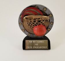 Small Basketball Trophy! Free Engraving! Ships In 1 Business Day!