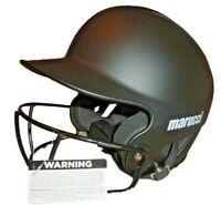 $54 Marucci Fastpitch Helmet Softball - MBHSB-BK Mbhsb, Black, X-Small