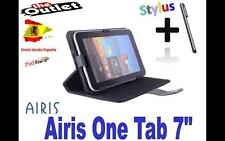 "FUNDA NEGRA TABLET AIRIS ONE TAB 100 7"" UNIVERSAL  el mundo as 705 720 725 730"