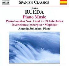 JES£S RUEDA: PIANO MUSIC (NEW CD)