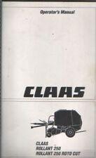 Claas Cortadora wm30 Manual del operador