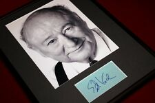 BEST Signed Mayor ED KOCH, New York Photo, Frame - FREE SHIP!  COA, UACC