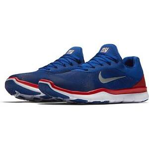 NEW YORK GIANTS NFL Nike Free Trainer V7 Shoes - SIZE 12 LAST PAIR !!!
