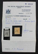 CKStamps: GB Bermuda Stamps Collection Scott#14 Mint H OG with Cert
