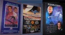 1985 STAR TREK 1st video SEPT 67-DEC 67,STAR TREK IV: The Voyage,1995 CALENDAR